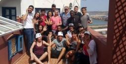 Chantier au Maroc : Les jeunes ne relâchent pas la cadence !