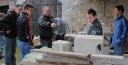 Fourmies: A la restauration du château de Porteo